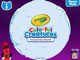 Crayola Colorful Creatures Around The World