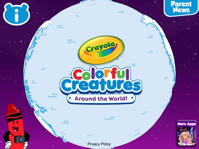 Crayola Colorful Creatures Around The World