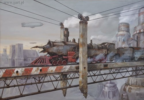 05-Jarosław-Jaśnikowski-Surreal-Paintings-of-Fantastic-Realism-www-designstack-co
