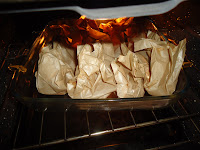 Herby Salmon Parcels