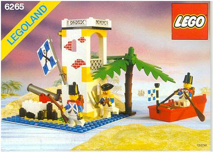 Steves Lego Blog Lego Pirates Wave 1 1989 1991