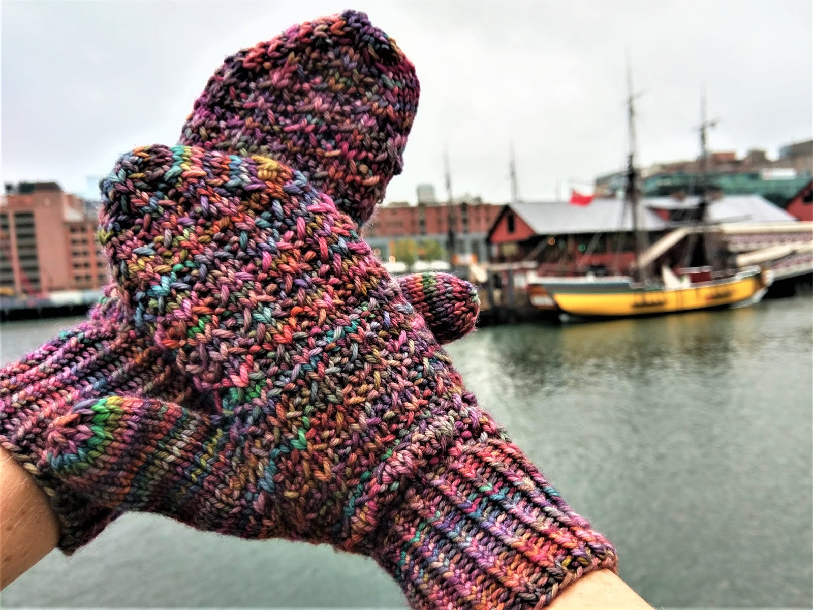 Beacon Hill Mittens!