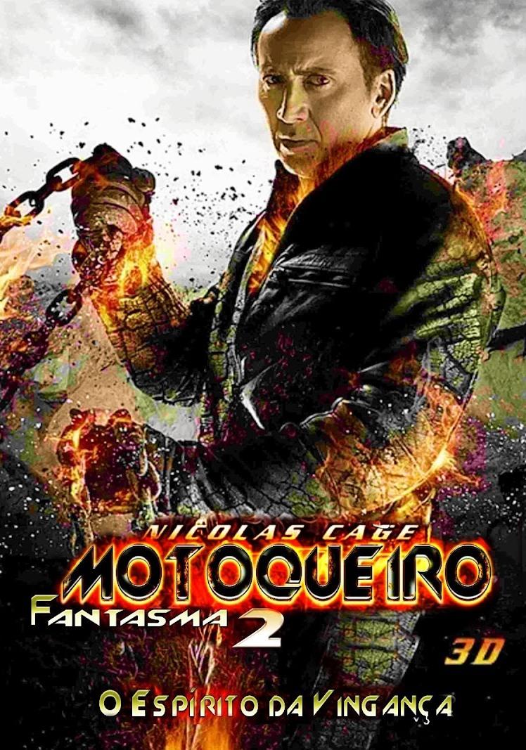 Motoqueiro Fantasma: Espírito de Vingança – Dublado – 2012