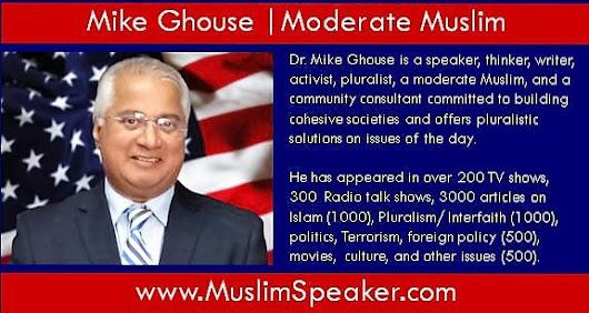 Moderate Muslim Speaker