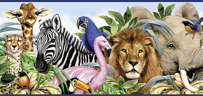 Different wild animals together - photo#5