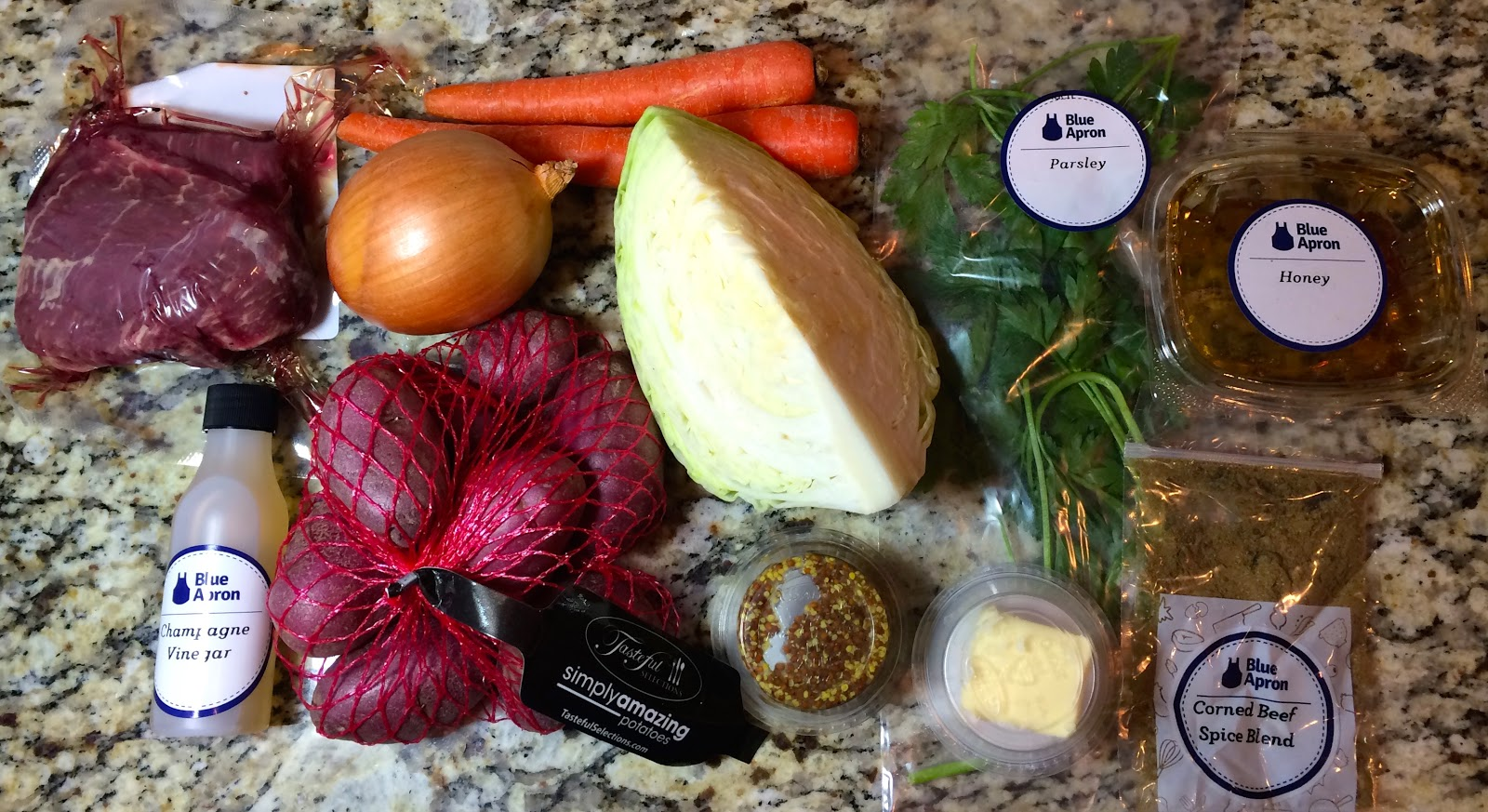 Blue apron khao soi