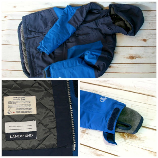 Lands' End Winter Style | Morgan's Milieu: Boy's Squall from Lands' End with name label, and loop for hanging!