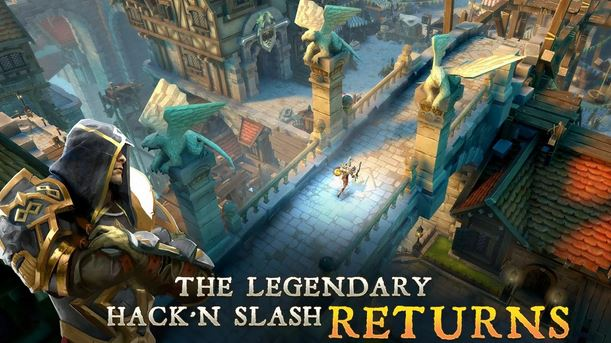 Dungeon Hunter 5 v1.3.0h APK DATA