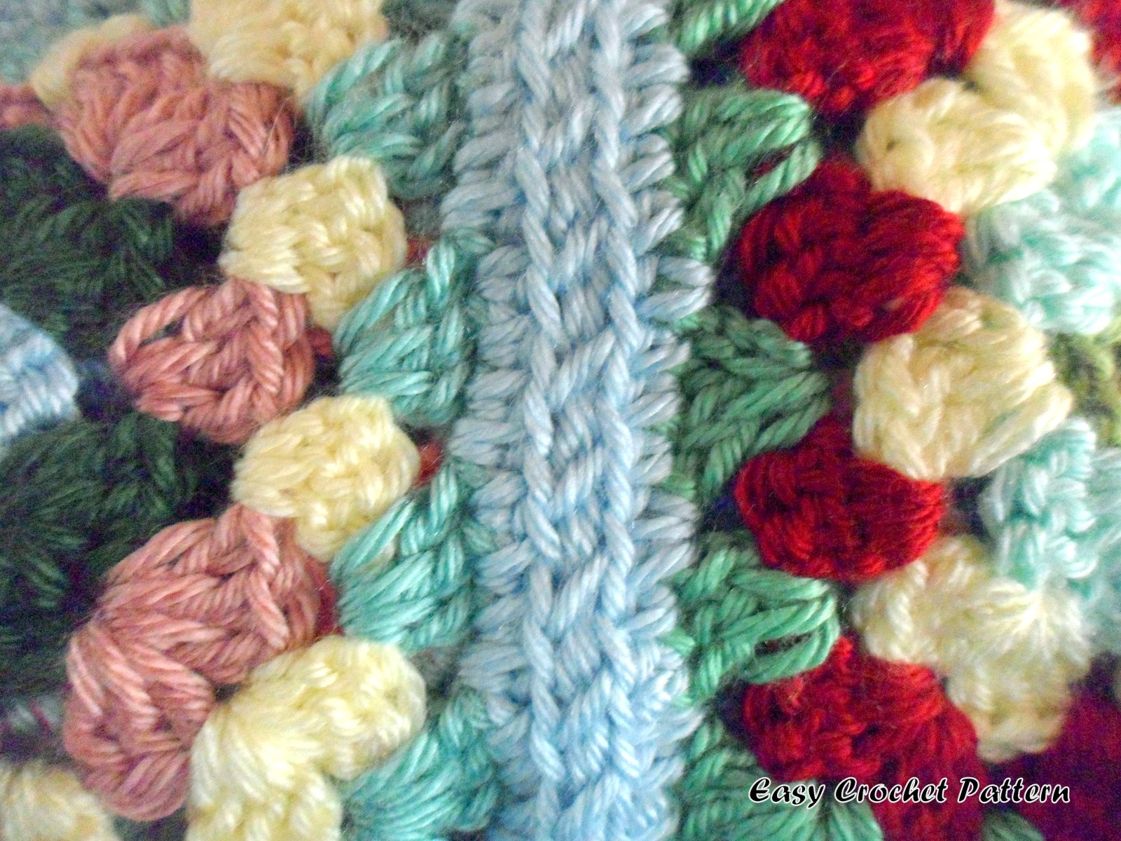 Crocheting Granny Squares Together Video : together. You will be able to tell the right side of the granny square ...