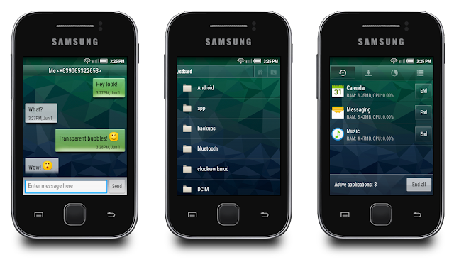 Custom Rom for Samsung Galaxy Stable