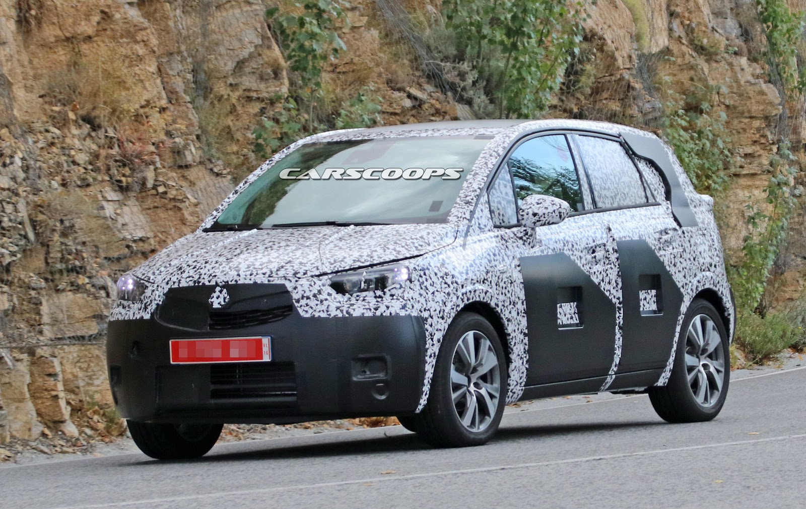 First Look At All New 2017 Opel Amp Vauxhall Meriva Which