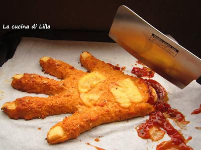 La cucina di Lilla (adessosimangia.blogspot.it): Halloween: Mano Mozzata