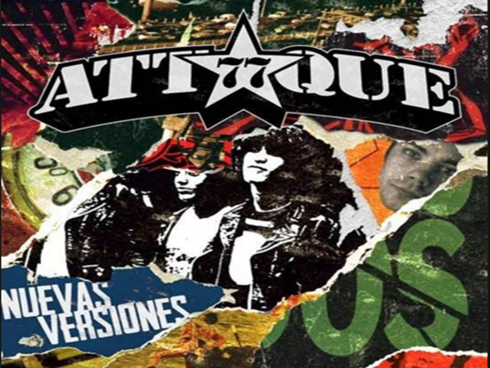 Discos No oficiales Nuevas Versiones Álbum De Attaque 77