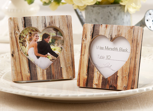 http://allstyleweddings.com/Wedding-Favors/Wedding-Favors-By-Theme/Outdoor-Wedding-Favors/Rustic-Romance-Faux-Wood-Heart-Place-Card-Holder-Photo-Frame
