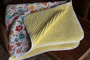 Chenille Baby Blanket Tutorial
