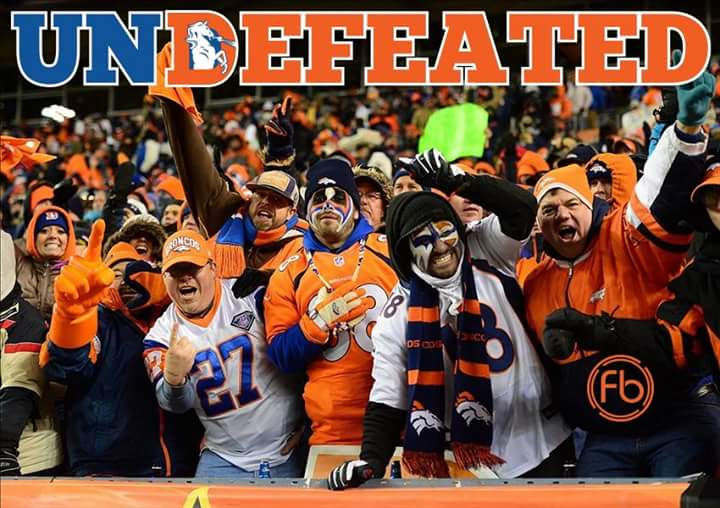 #undefeated #broncos #nfl.- Broncos undefeated