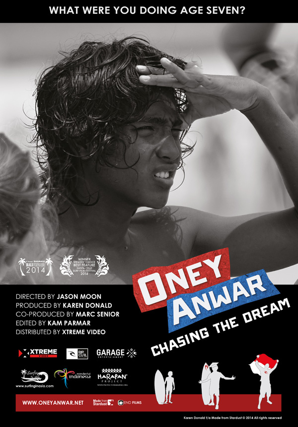Oney Anwar Chasing the Dream