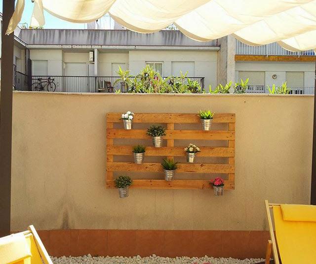 Que f cil es hacer un jard n for Como hacer un jardin vertical con palets