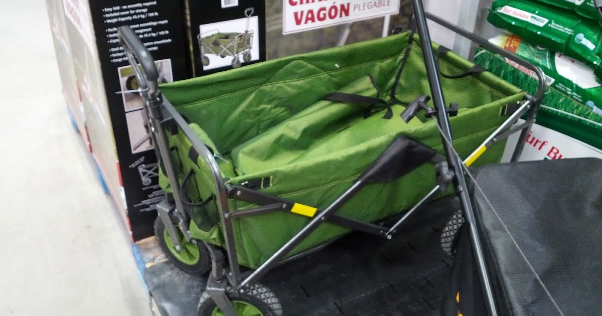 Foldable Utility Wagon At Costco Costco Weekender
