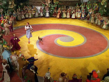 Wizard Of Oz Yellow Brick Road DAVID DUST: You Can St...