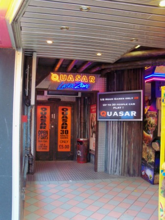The Ham And Egger Files Quasar In Great Yarmouth