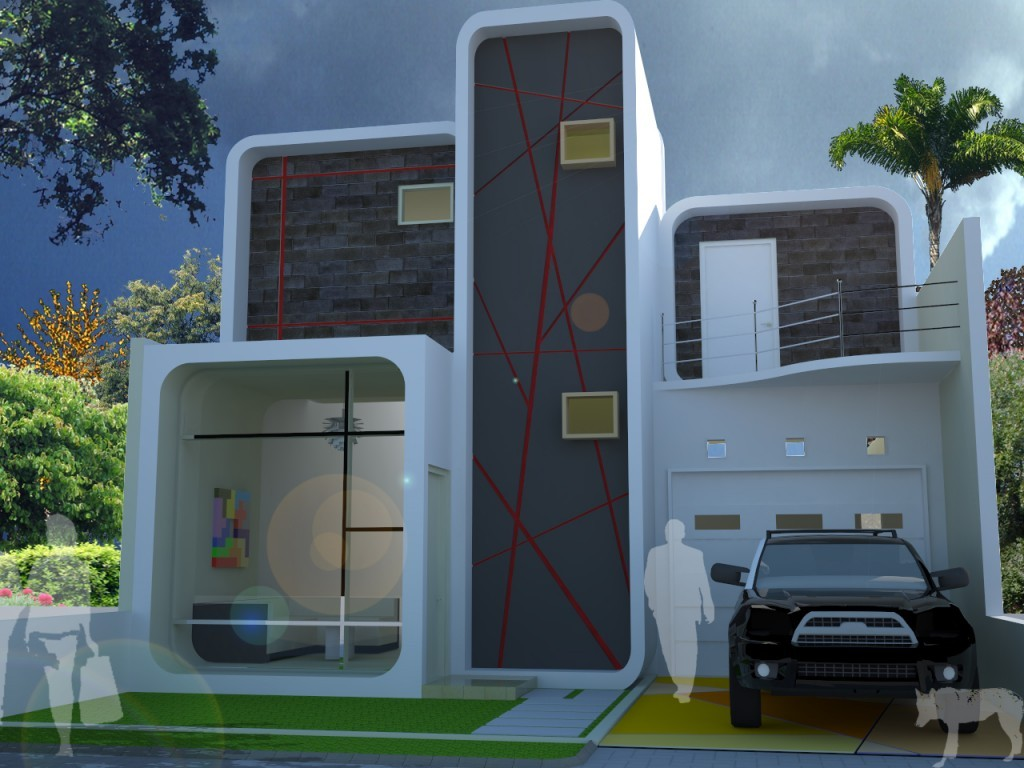 64 Desain Rumah Minimalis Unik Terbaru 60 Dunia Desainrumahnyacom Gambar