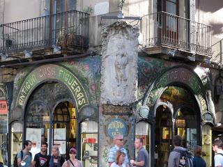 Antigua casa figueres on Las Ramblas in Barcelona