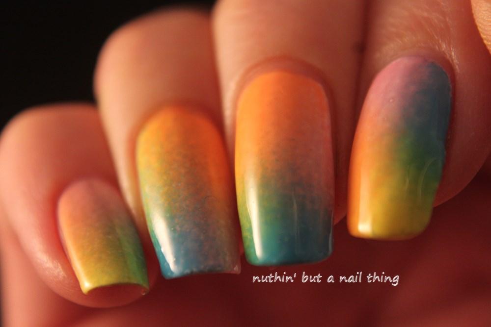 gradient nail art ideas