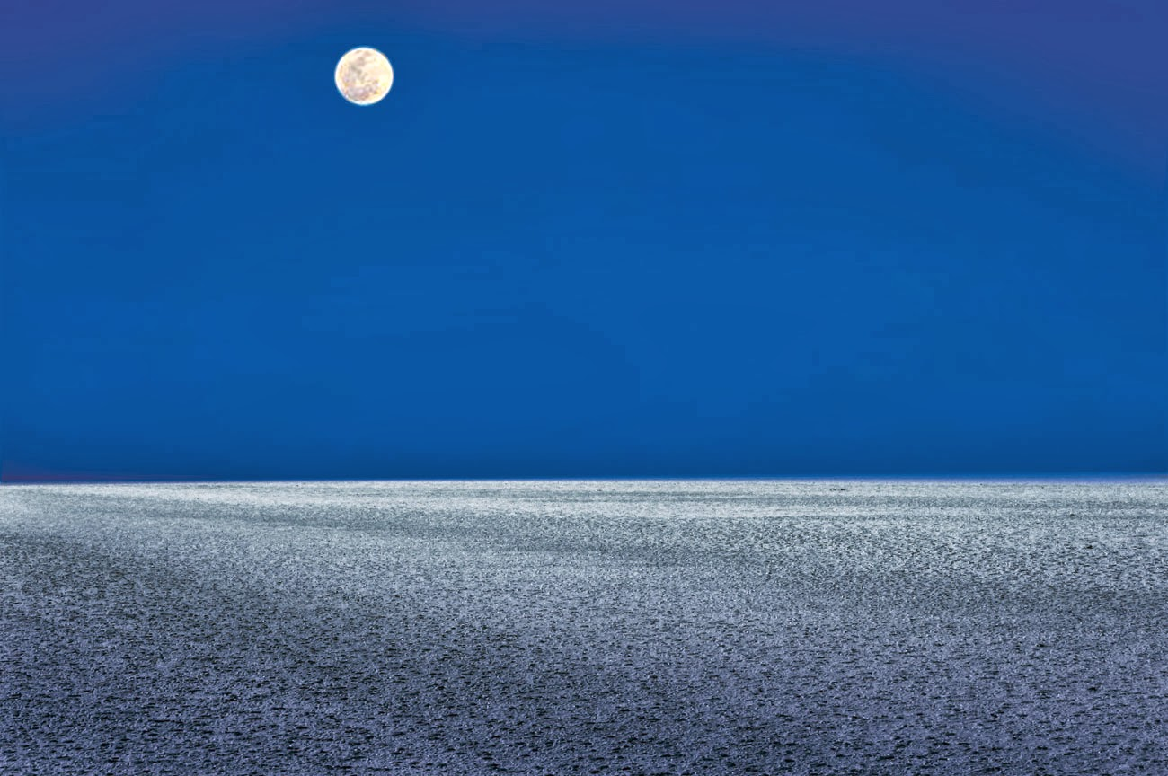 Full moon night, Rann of Kutch