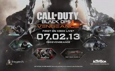 Call of Duty Black Ops II - Vengeance DLC - JTAG  Baixar grátis torrent