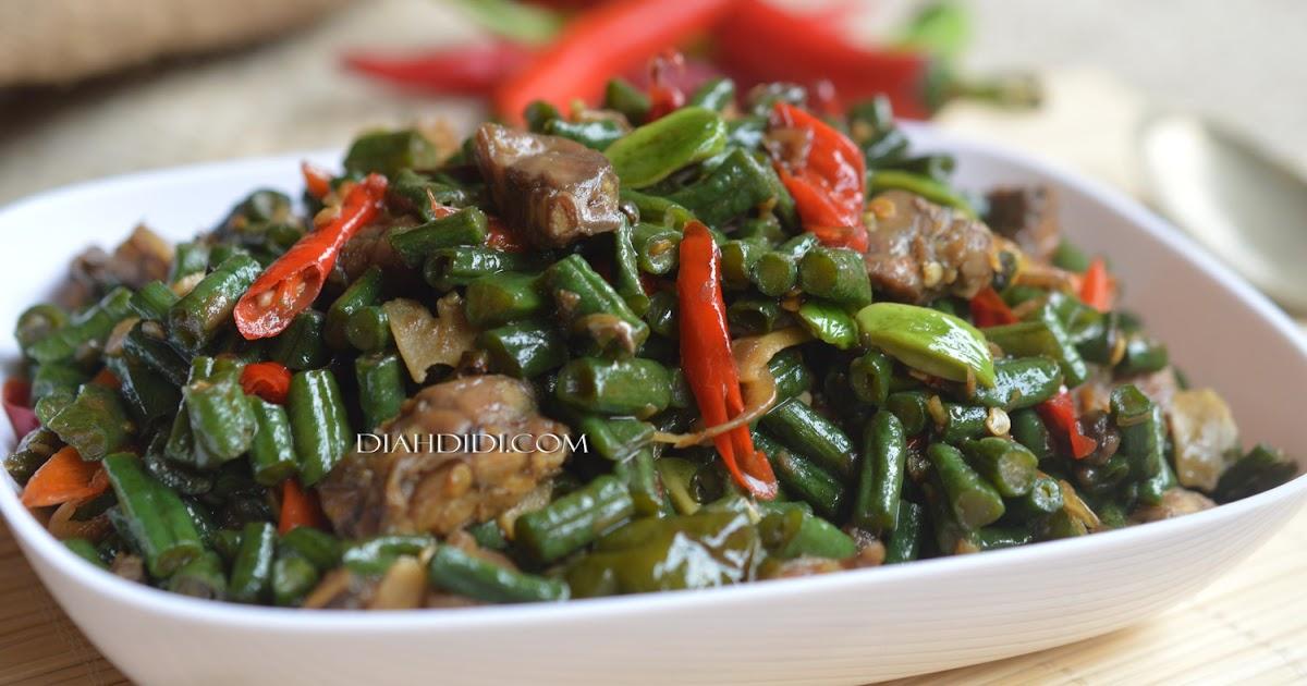 Diah Didi S Kitchen Oseng Kacang Panjang Ndeso
