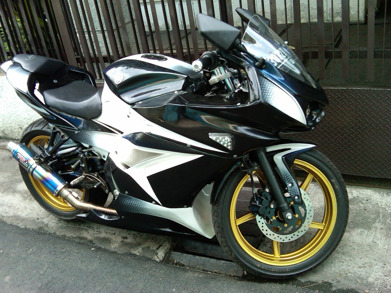 Modif Motor Yamaha Vixion Baru