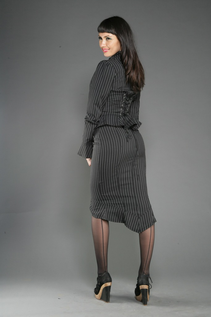 fashion tights skirt dress heels pencil skirt look