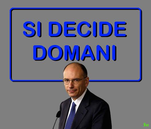 Enrico Letta, l'Indecisionista