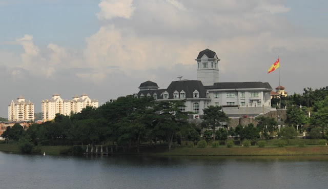Istana Darul Ehsan  or Darul Ehsan Palace is one of the royal residences of Sultan of Selangor in Putrajaya, Malaysia
