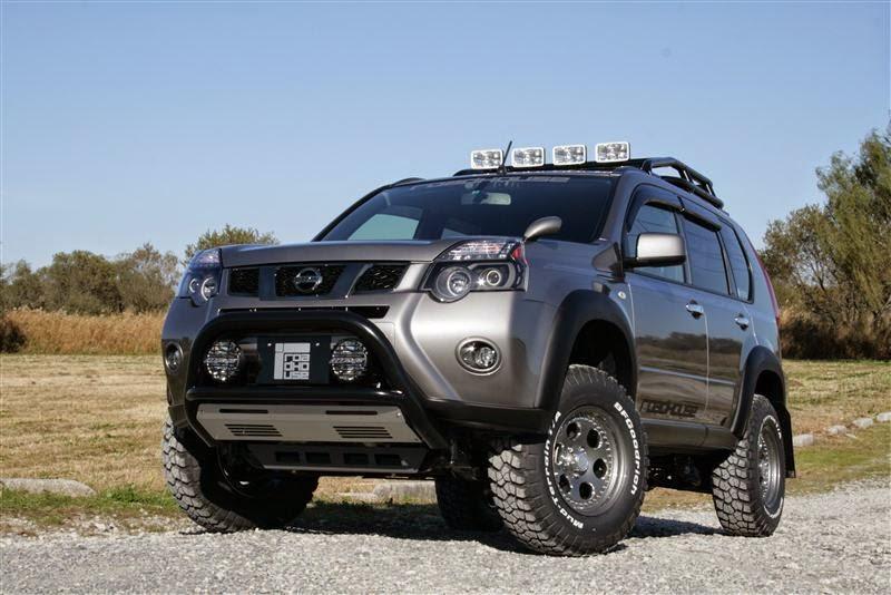 Modifikasi Mobil Nissan X-Trail Off Road