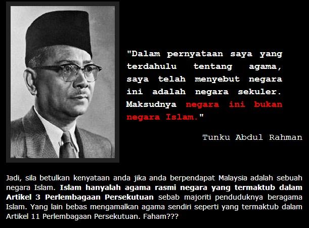Kata Kata Tunku Abdul Rahman Tentang Perpaduan