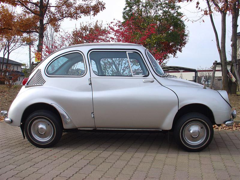 Subaru 360, z boku, klasyk, stary, old car, retro, mały samochód, kei car, 軽自動車
