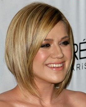 Short Hairstyles Round Face Fine Hair