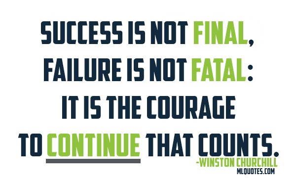 can failure lead to success essay Failure can lead to success failure is all around us in ways we can accept and learn from just watch a championship sports team lose to a relatively unknown.