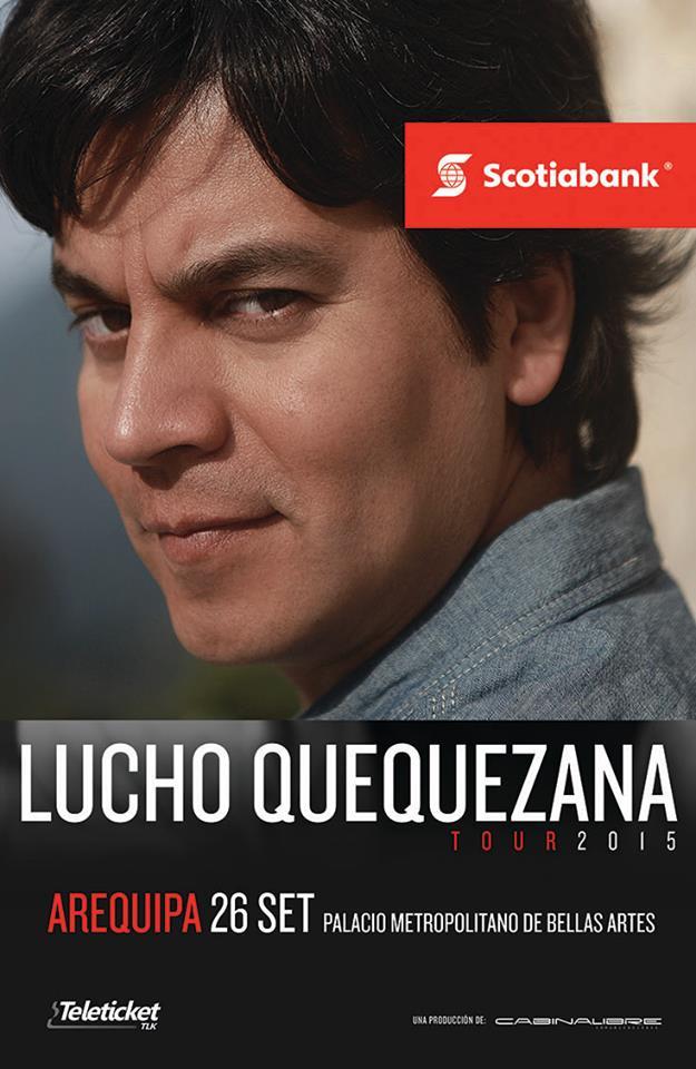 Lucho Quequezana en Arequipa | Tour 2015 - 26 de setiembre