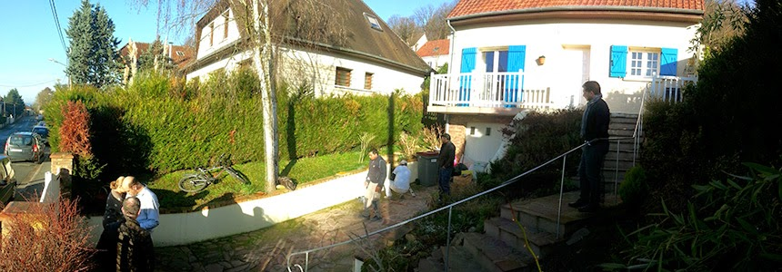 Extension terrasse bois Yvelines