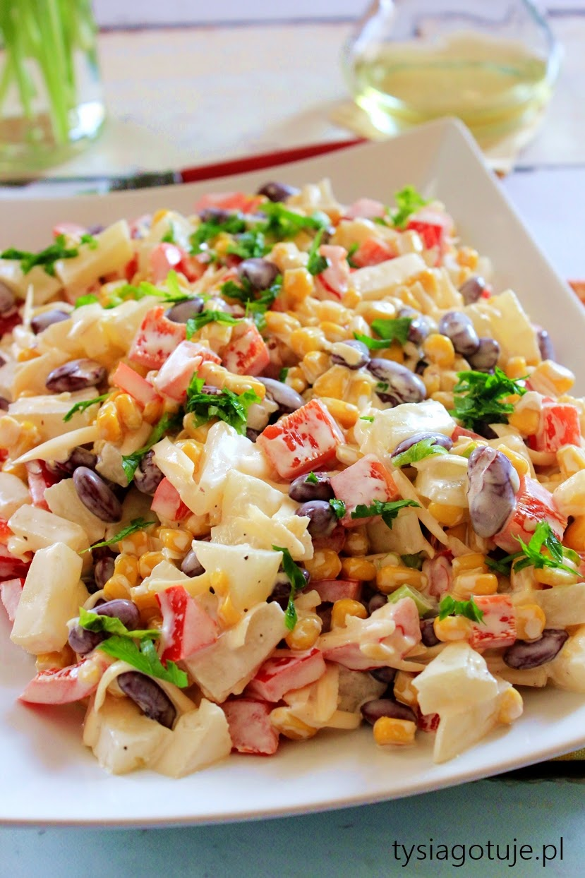Salatka Meksykanska Tysia Gotuje Blog Kulinarny