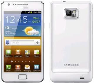 Galaxy S II Putih