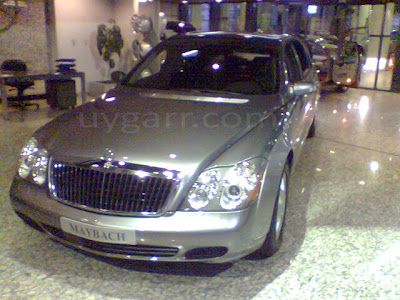 Car of the Day # 7 Maybach 62