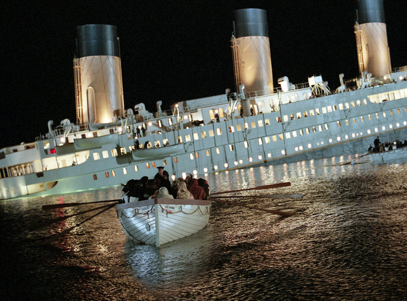 titanic film affondamento
