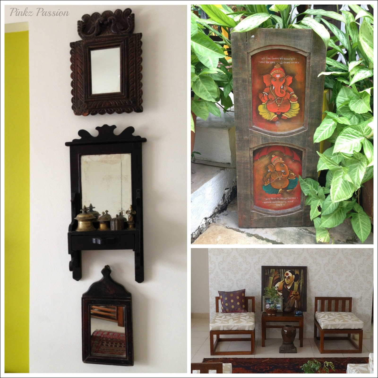 Pinkz passion sanskriti lifestyle featured shop for Ethnic decorations home