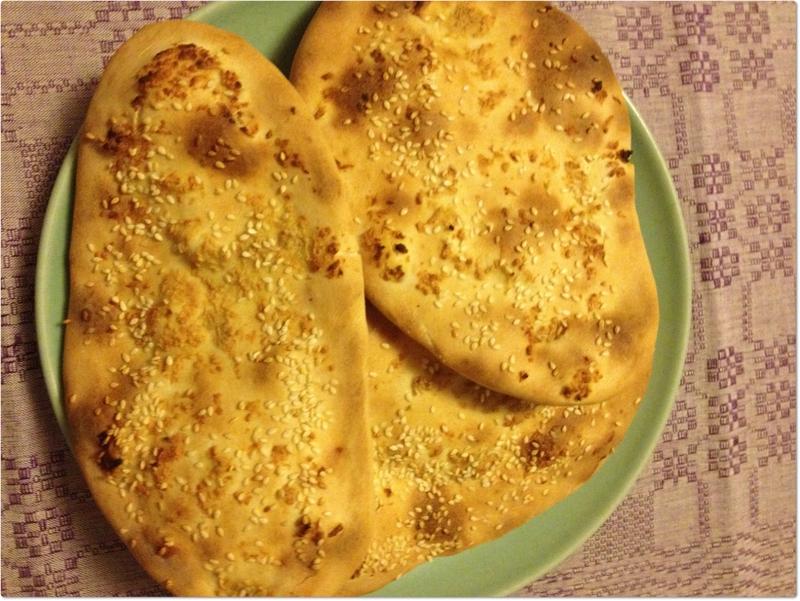 naanbröd med bakpulver