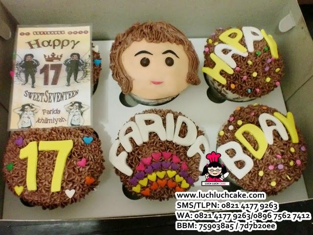 Cupcake Ulang Tahun Ke - 17 Daerah Surabaya - Sidoarjo
