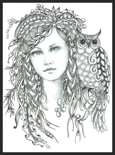 Norma J Burnell Fairy Coloring Pages